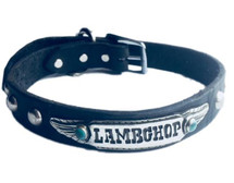 """Personalized"" Custom Made Dog Collar arrives with your dog's name stamped into the metal"