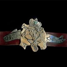 """""""Prince Charming"""" Custom Made Dog Collar"""