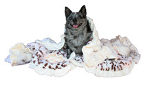 Snow Leopard Faux Fur Sleepytime Cuddle Blanket