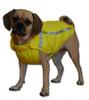 Yellow Chillybuddy winter dog jacket