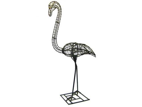 Frame 40-Inch Flamingo Topiary