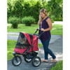 Jogger No Zip Pet Stroller in rugged red