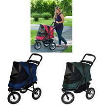 Jogger No Zip Pet Stroller  is available in three colors