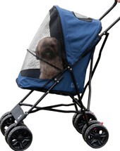 Pet Gear Blue Travel Lite Pet Stroller