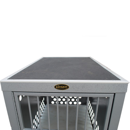 Grooming Top installed on Zinger crate - crate NOT INCLUDED