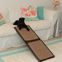 Indoor Carpeted Mini Dog Ramp