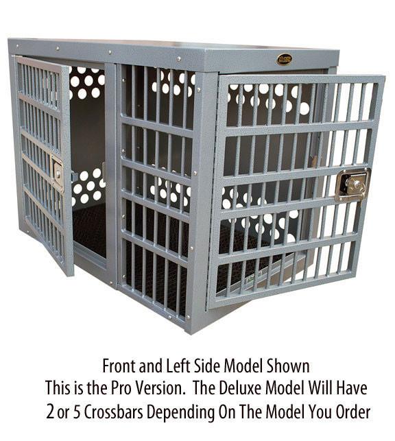 Zinger Deluxe Frontside Door Aluminum Dog Crate Box The Paws Mahal