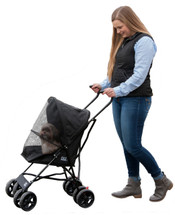 Pet Gear Black Travel Lite Pet Stroller