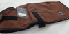 Chocolate Sherpa Lined Windhorse winter dog jacket