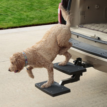 PupSTEP® Hitch STEP™ SUV Van Pickup Truck Dog Step