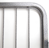 Portable Indoor/Outdoor Kennel Exercise Pen Dog Run showing the silver hammer tone crackle finish