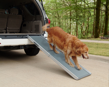 Deluxe Telescoping Dog Ramp