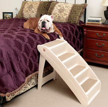 PupSTEP Plus XL Dog Stairs can be used indoors or outside