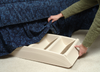 PupStep Plus Dog Stairs fold for compact storage under your bed