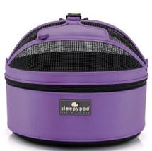 Violet Sleepypod Pet Carrier, Car Pet Safety Seat, Pet Bed