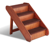 X-Large PupSTEP Wood Dog Stairs feature four deep steps for larger paws