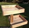 Outdoor/Indoor Cedar Cat Tree shown with Optional Sleeper Platforms