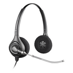 Plantronics HW261 SupraPlus Wideband Binaural Headset (64336-31)