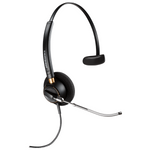 Plantronics HW510V EncorePro Over-the-Head Monaural Voice Tube Headset (89435-01)