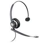 Plantronics HW710 EncorePro Over-the-Head Monaural NC Headset (78712-101)