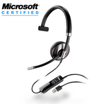 Plantronics Blackwire C710-M Over-the-Head Monaural USB & Bluetooth Headset (87505-01)