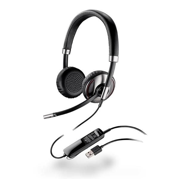 Plantronics Blackwire C720 Over-the-Head Binaural USB & Bluetooth Headset  (87506-12)