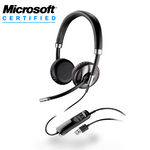 Plantronics Blackwire C720-M Over-the-Head Binaural USB & Bluetooth Headset (87506-11)