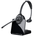 Plantronics CS510 Wireless Over-the-Head Monaural Headset, DECT 6.0 (84691-01)