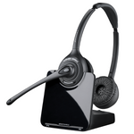 Poly CS520 Wireless Over-the-Head Binaural Headset, DECT 6.0 (84692-01)
