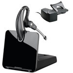 Poly CS530 Wireless Over-the-Ear Headset with HL10 Handset Lifter, DECT 6.0 (86305-11)