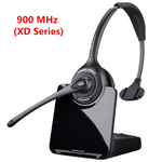 Poly CS510-XD Wireless Over-the-Head Monaural Headset, 900MHz (88284-01)