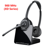 Poly CS520-XD Wireless Over-the-Head Binaural Headset, 900MHZ (88285-01)