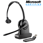 Plantronics Savi W410-M Wireless Over-the-Head Monaural USB Headset, DECT 6.0 (84007-01)