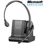 Plantronics Savi W710-M Wireless Over-the-Head Monaural USB Headset, DECT 6.0 (84003-01)