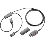 Plantronics Y-Adapter Trainer Cable with Mute (27019-03)