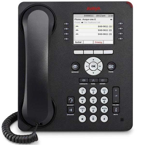 Avaya 9611G IP Gigabit Phone with Color Display - Text Version (700480593)