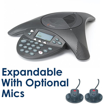 Poly Soundstation2 EX Expandable Conference Phone - 2200-16200-001