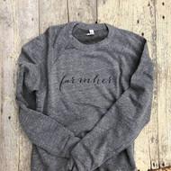 Farmher, farmher shirt, sweatshirt, farming gift, farm her