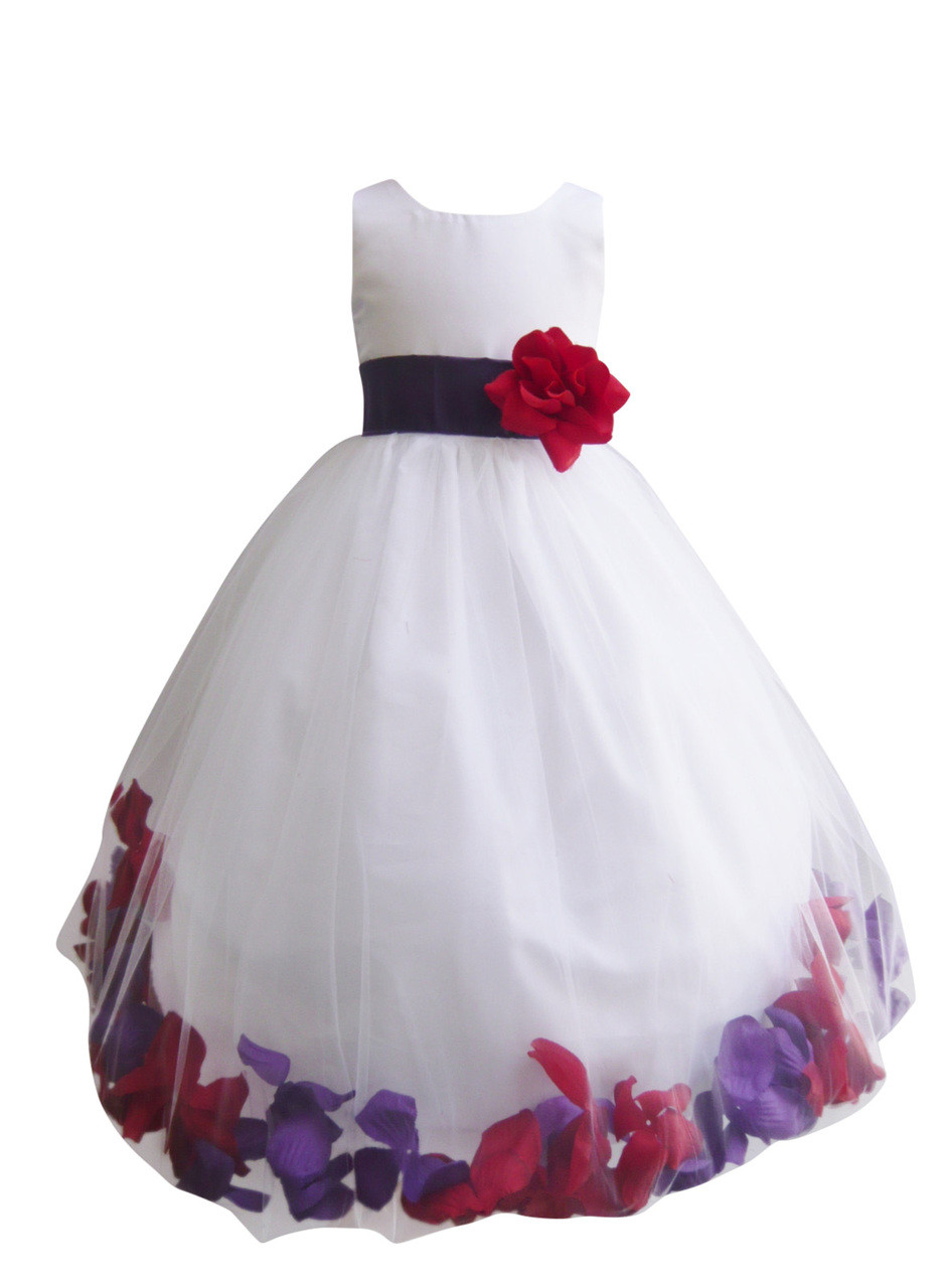 f440be448851 Rose Petal Dress Combination Purple and Red (Custom Colors). Loading zoom