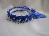 Flower Girl Dress Headpiece or Crown Blue Royal