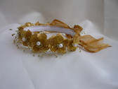Flower Girl Dress Headpiece or Crown Gold