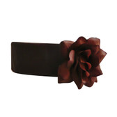 Flower Girl Dress Sash Brown