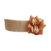 Flower Girl Dress Sash Champagne