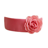 Flower Girl Dress Sash Guava