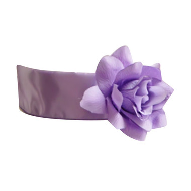 Flower Girl Dress Sash Lilac