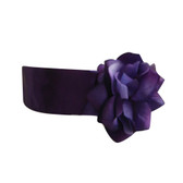 Flower Girl Dress Sash Purple