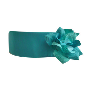 Flower Girl Dress Sash Teal