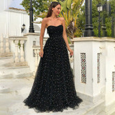 Black #16 Women Formal Gown Wedding Bridesmaid Evening Party Bodycon Prom Cocktail Dress