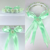 Mint Headpiece Flower Girl Dress Headpiece (All Size)
