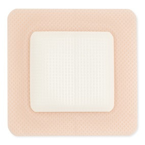 550762 Hollister Triact® Foam Dressing, with Silicone Border